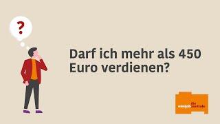 Darf bei einem 450-Euro-Minijob die Verdienstgrenze von 450 Euro überschritten werden?