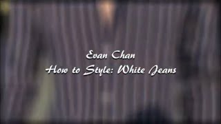 How to Style White Jeans | Ways to Wear | 3 Easy Outfits | Summer Lookbook | Men's Fashion