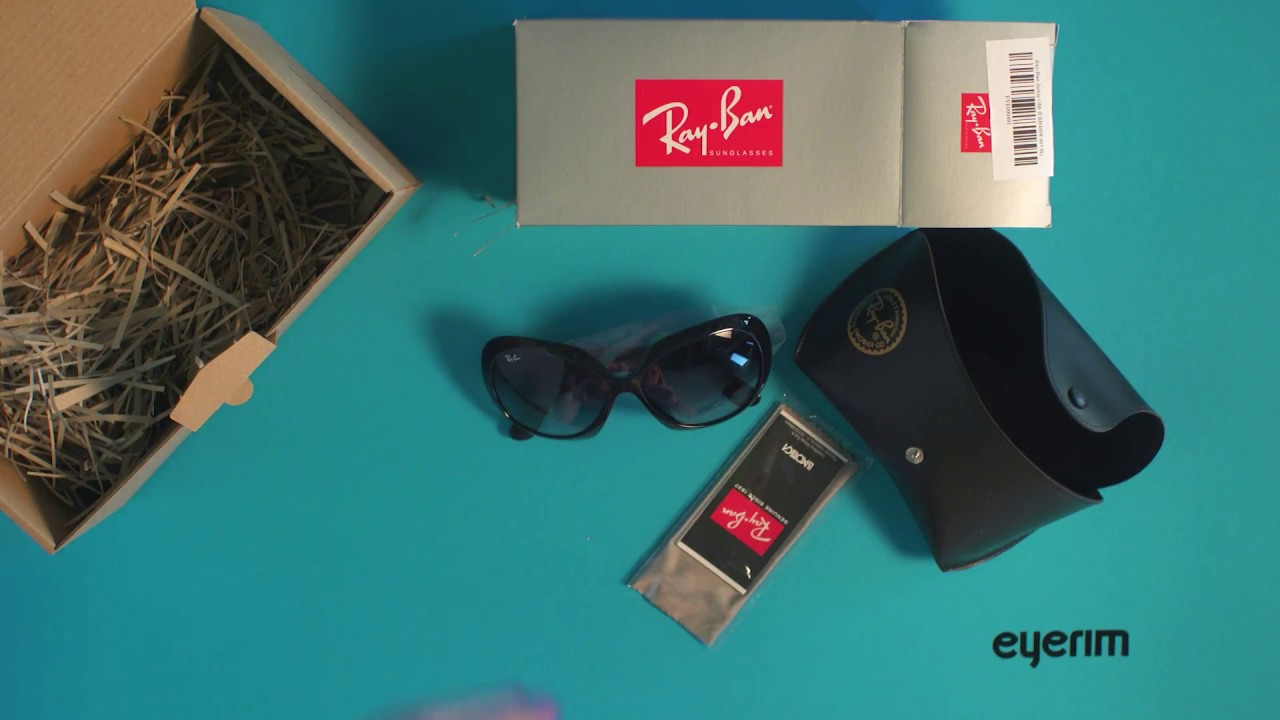 28546753615 eyerim presents  Unboxing of Ray-Ban JACKIE OHH II RB4098 601 8G sunglasses