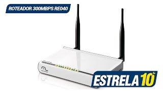 Roteador Wireless N 300mbps RE040 - Multilaser