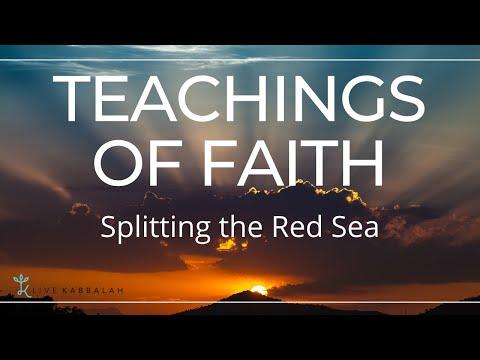Splitting the Red Sea