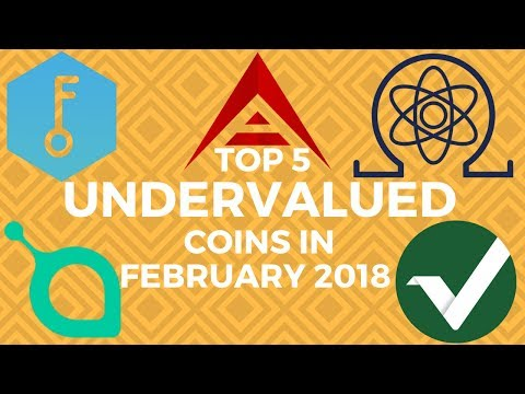 Top 5 UNDERVALUED Coins in February | ARK, VERTCOIN, SIACOIN, QRL, SELFKEY + a 6th bonus Altcoin!