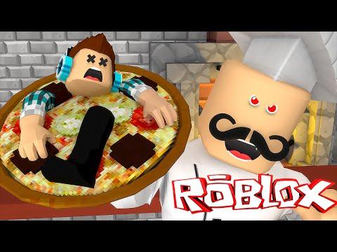 Roblox: VIREI UMA PIZZA !! ( Roblox Escape the Pizzeria )