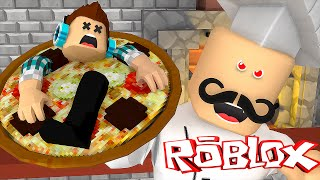 Roblox: VIREI UMA PIZZA !! ( Roblox Escape the Pizzeria )