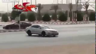 Saudi Drifters in car footage
