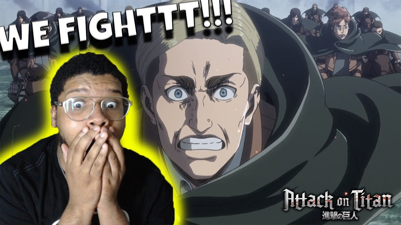 ATTACK ON TITAN SEASON 3 EP. 16 REACTION! - DESPAIR!!! - YouTube