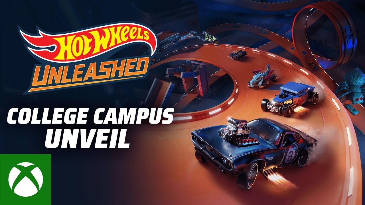 Hot Wheels Unleashed College Campus