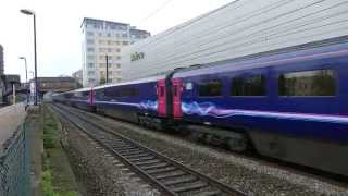 First Great Western HSTs at West Ealing 28 November 2014