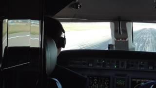 Flight Deck Takeoff - Stuttgart, Germany