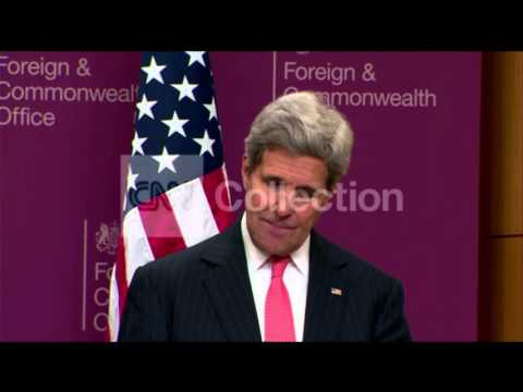 UK- SECY KERRY ON ISIS-TROOPS HAVE RECLAIMED LAND