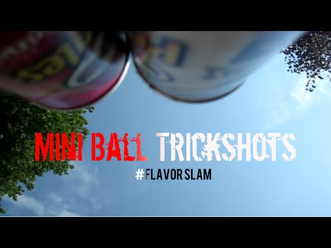 Pringles Mini Ball Trick Shots | #Flavor Slam