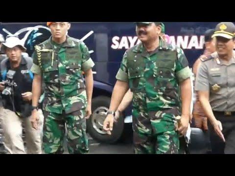 Panglima TNI Kunjungi Lokasi Penyerangan Gereja St. Lidwina