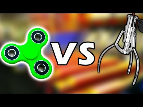 Download SPINNING FIDGET SPINNER VS. CLAW MACHINE! | WILL IT CLAW? | MATT3756 Images
