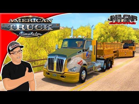 American Truck Simulator Mods Tom Dooley's Kenworth T660 680 New Mexico DLC