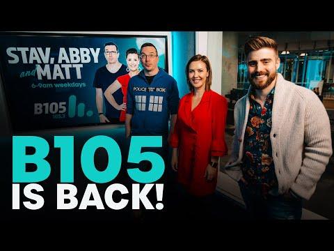 B105 is back! | B105