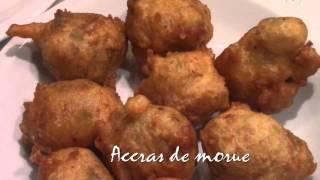Cuisses de poulet braisé & accras de morue au Restaurant Le Noun