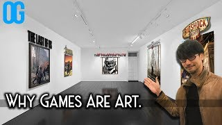 Why Video games are art