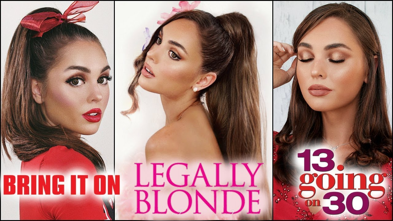"""ariana grande """"thank u, next"""" makeup hair & lookbook! 13 going on 30, legally blonde + more"""