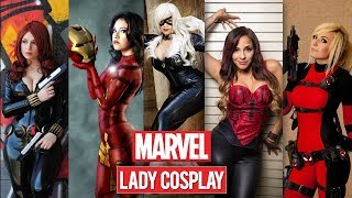 Marvel Hot Cosplay | Marvel Unseen Cosplay | 30+ Marvel Superheroes Hot Lady Cosplay & Outfits