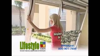 IMNatural - Lifestyle Garage Door Screens
