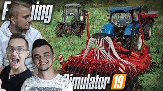 """FENDT nie dał rady? ✔ Farming Simulator 19 """"od Zera do Farmera"""" #16 ✔ Siew Jęczmienia i Oprysk"""