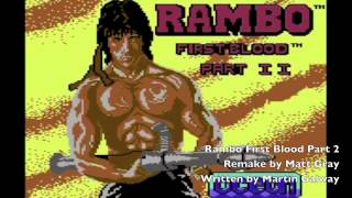 Matt Gray - Rambo First Blood Part 2 C64 Loader Remake