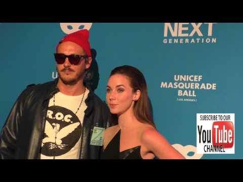 Lyndon Smith and Steve Talley at the 4th Annual UNICEF Masquerade Ball at Clifton's Cafe in Los Ange
