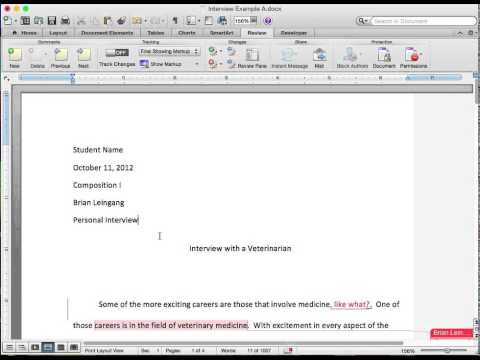 How to Comment on Electronic Documents