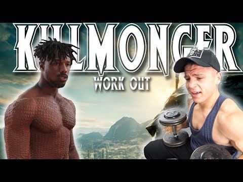 I Did Michael B. Jordan's FULL  KILLMONGER Workout (Black Panther)