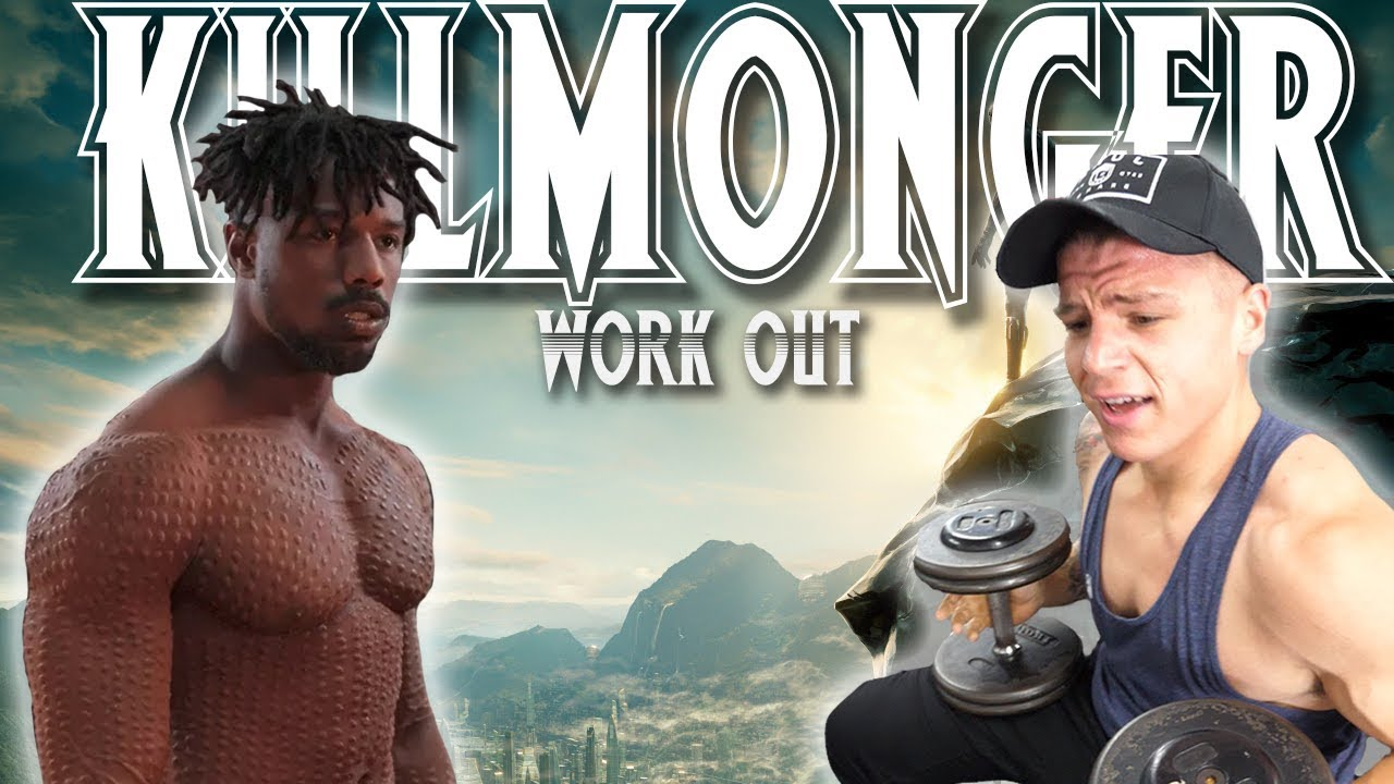 I Did Michael B. Jordan's FULL  KILLMONGER Workout (Black Panther)