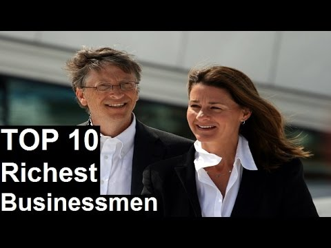 Top 10 Richest Businessmen in the world forbes 2017