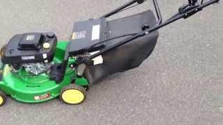 John Deere JX75 Mower Overview