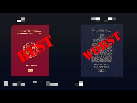 10 World's Best and Worst Passports (2017)