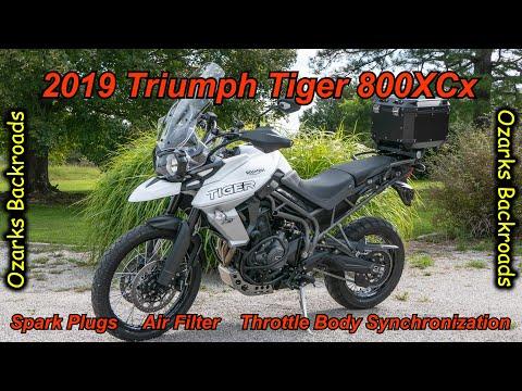Triumph Tiger 800XCx Winter Service
