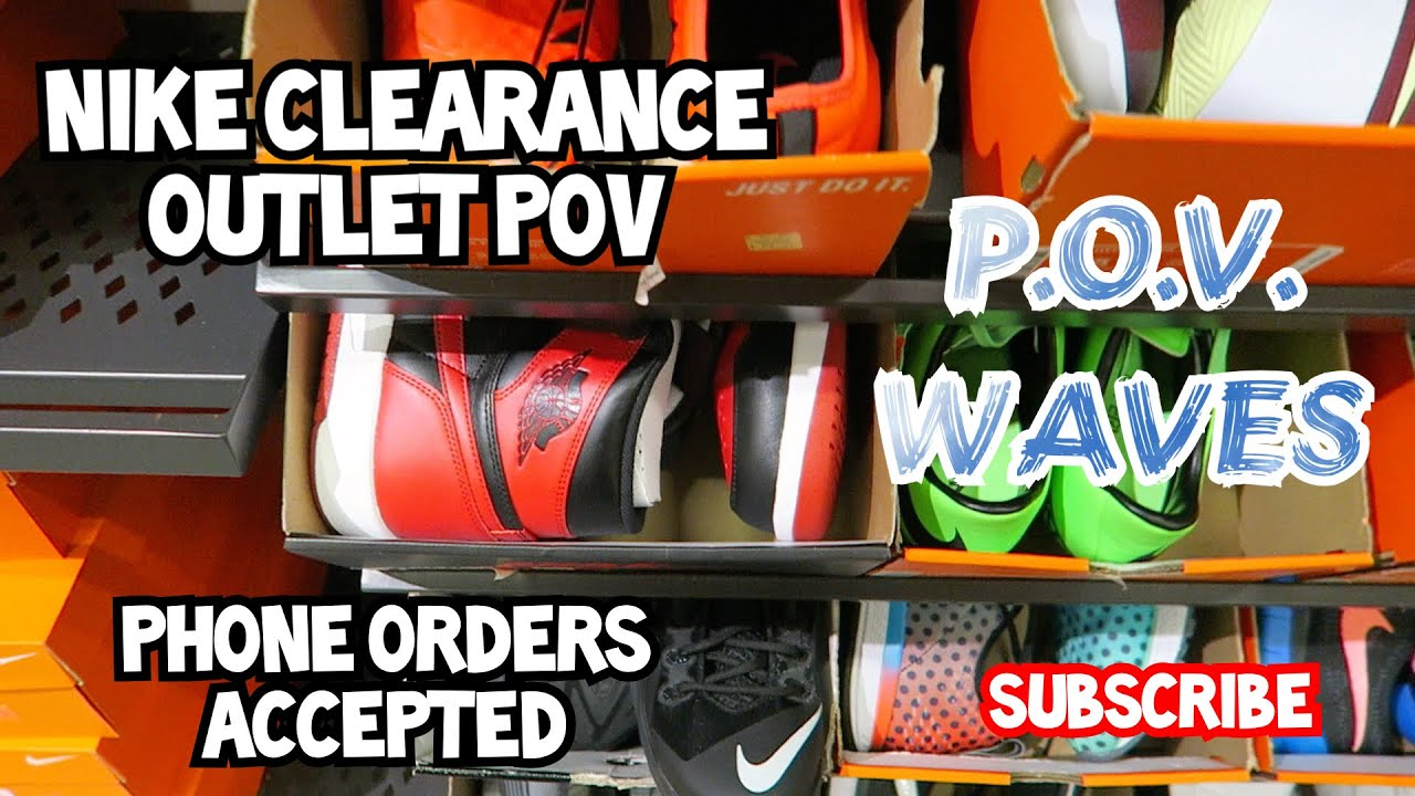 POV Nike Clearance Outlet ... They Got BANNED 1 s It s Lit - YouTube 5a3e73530