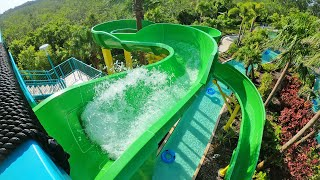 Surfari Water Park - Green Slide | The Grove Resort Orlando