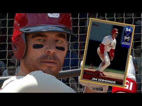 DIAMOND JIM EDMONDS DEBUT!! MLB THE SHOW 17 DIAMOND DYNASTY