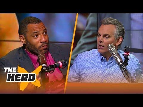 Kenyon Martin on Steve Kerr letting players coach, Isaiah Thomas trashing the Cavs | THE HERD