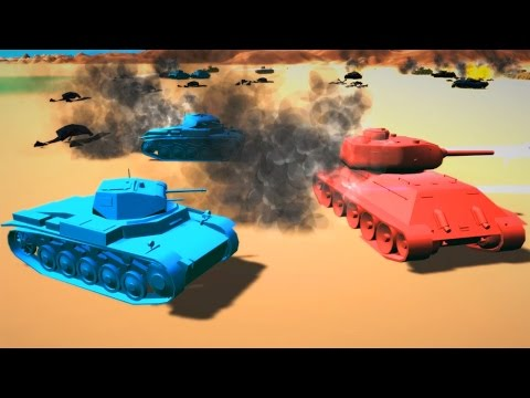 ТАНКОВОЕ МЕСИВО ► Total Tank Simulator #1