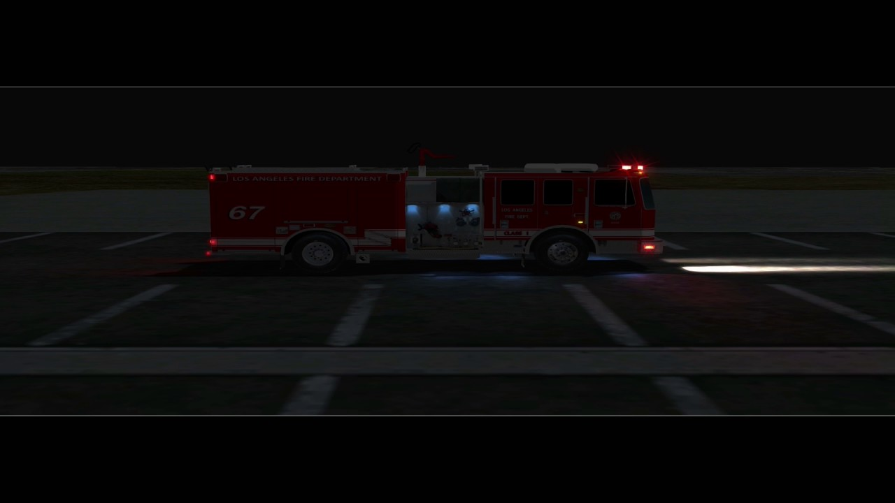 Emergency 4 - LAFD KME Engine