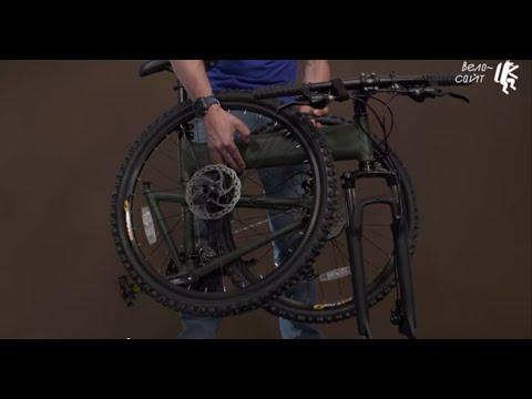 Обзор складного велосипеда MONTAGUE PARATROOPER