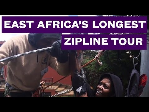 This is East Africa's Longest Zipline