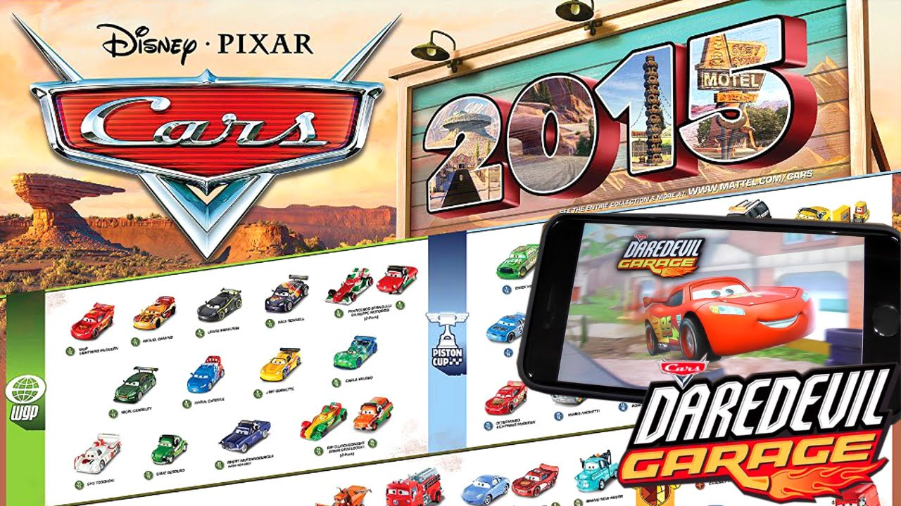 Cars Daredevil Garage All 160 2015 Diecast Cars In Video