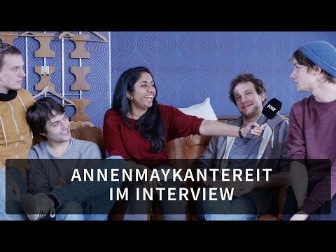 AnnenMayKantereit ärgern sich über Festival-Littering - komplettes Interview