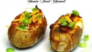 How To Make Eggs Stuffed Baked Potatoes Recipes