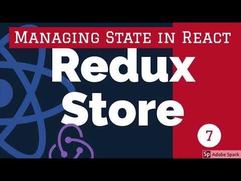 Redux Store - React Redux Training