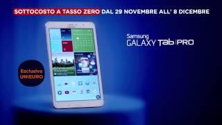 Spot Unieuro - Sottocosto - Samsung Galaxy Tab Pro 8.4