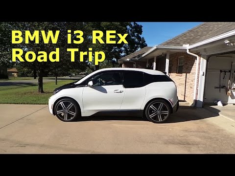 BMW i3 REx roadtrip, charging, coding, and range test.