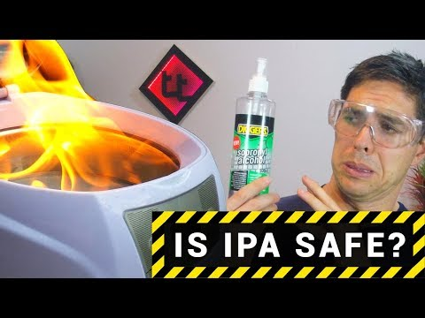 Is Isopropyl alcohol safe?