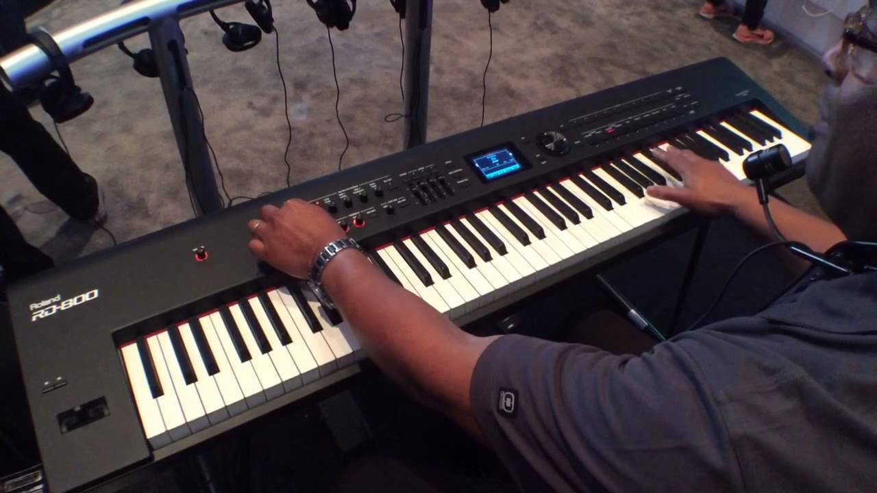 2014 winter namm show roland rd 800 stage piano youtube. Black Bedroom Furniture Sets. Home Design Ideas